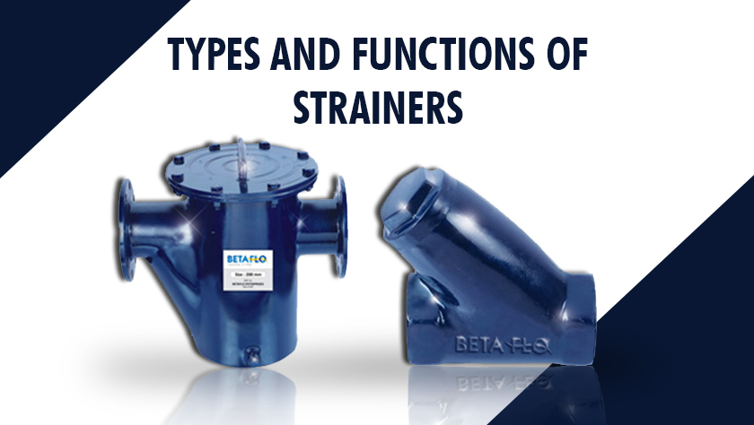 Types and Functions of Strainers